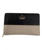 ()の古着「2つ折り財布」 ピンク×ブラック