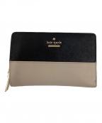 Kate Spade(ケイトスペード)の古着「2つ折り財布」|ピンク×ブラック