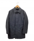 EDIFICE(エディフィス)の古着「ライナー付ステンカラーコート」|ネイビー