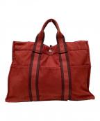 HERMES(エルメス)の古着「ハンドバッグ」|レッド