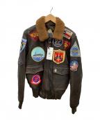 COCKPIT(コックピット)の古着「G-1フライトジャケット」|ダークブラウン