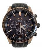 SEIKO()の古着「クロノグラフ腕時計」|ゴールド×ブラック