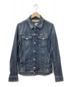 DIESEL(ディーゼル)の古着「ジョグジーンズデニムジャケット」|インディゴ