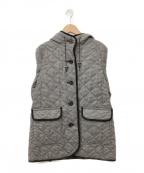 MACKINTOSH PHILOSOPHY(マッキントッシュフィロソフィー)の古着「ウールサキソニーキルティングコート」|グレー