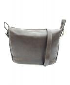 土屋鞄(ツチヤカバン)の古着「プロータ ショルダーバッグ」|ダークブラウン