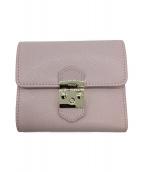 FURLA(フルラ)の古着「2つ折り財布」|コーラルピンク