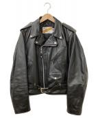 Schott(ショット)の古着「ライダースジャケット」|ブラック