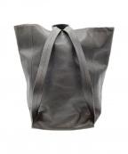 Aeta(アエタ)の古着「2WAYレザーバッグ」 ブラック