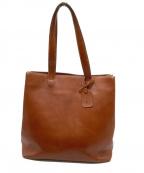 土屋鞄(ツチヤカバン)の古着「レザーバッグ」 ブラウン