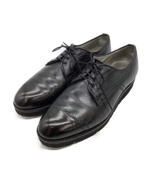 ALDEN(オールデン)ALDEN (オールデン) グレインカーフプレーントゥシューズ ブラック サイズ:9 ²/₁の古着・服飾アイテム