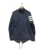 Y-3(ワイスリー)の古着「シェブロンジャケット」|ネイビー
