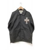 GOOD ROCK SPEED(グッドロックスピード)の古着「コーチジャケット」 ブラック
