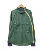 narifuri(ナリフリ)の古着「スタンドカラーサイクルアノラック」 グリーン