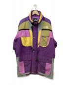 THE NORTH FACE(ザノースフェイス)の古着「90s スキーウェアジャケット」|パープル×イエロー
