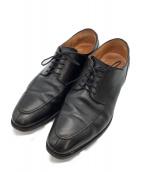 SCOTCH GRAIN(スコッチグレイン)の古着「Uチップシューズ」|ブラック
