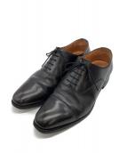 SCOTCH GRAIN(スコッチグレイン)の古着「ストレートチップシューズ」|ブラック