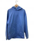 Y-3(ワイスリー)の古着「クラシックロゴフーディ」|ブルー