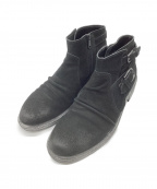 TORNADO MART(トルネードマート)の古着「サイドジップブーツ」|ブラック