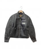 HARLEY-DAVIDSON(ハーレーダビットソン)の古着「オーナーズレザージャケット」|ブラック