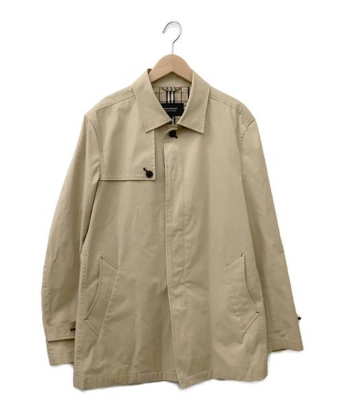 BURBERRY BLACK LABEL(バーバリーブラックレーベル)BURBERRY BLACK LABEL (バーバリーブラックレーベル) 比翼コート ベージュ サイズ:Lの古着・服飾アイテム