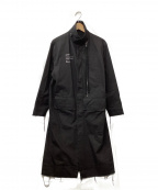 STAMPD(スタンプド)の古着「ASPHALT TRENCHコート」|ブラック