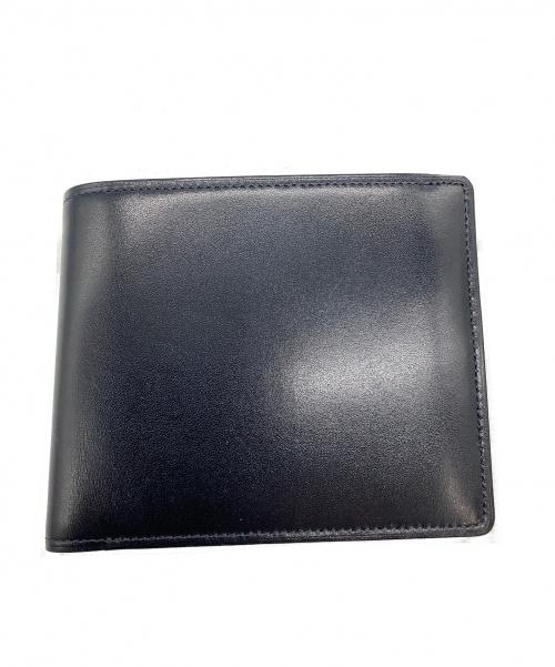 CYPRIS(キプリス)CYPRIS (キプリス) 2つ折り財布 ネイビー×ブラウン 未使用品 1383の古着・服飾アイテム