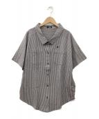 ()の古着「半袖シャツ」|グレー