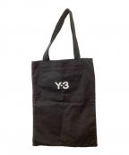 Y-3()の古着「SLOGAN TOTE」|ブラック