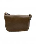 土屋鞄(ツチヤカバン)の古着「トーンオイルヌメショルダーバッグ」 ブラウン