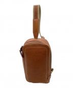 土屋鞄(ツチヤカバン)の古着「トーンオイルヌメボディーポシェット」 ブラウン