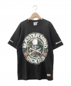 Mastermind JAPAN(マスターマインド ジャパン)の古着「半袖カットソー」|ブラック