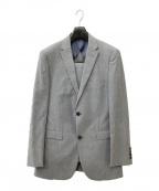 BURBERRY BLACK LABEL(バーバリーブラックレーベル)の古着「2Bスーツ」 グレー