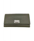 ()の古着「3つ折り財布」 グリーン
