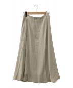 ()の古着「ロングスカート」 ベージュ