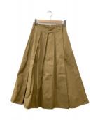 ()の古着「ロングスカート」 ブラウン