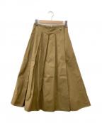 KU-UM(クウム)の古着「ロングスカート」 ブラウン
