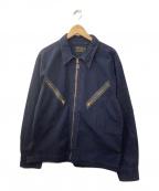 RRL(ダブルアールエル)の古着「インディゴコットンフライトジャケット」|ネイビー