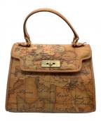 PRIMA CLASSE(プリマクラッセ)の古着「ハンドバッグ」|ブラウン