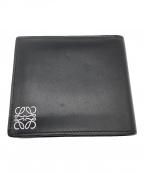 LOEWE(ロエベ)の古着「2つ折り財布」|ブラック