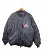 NIKE(ナイキ)の古着「MA-1ジャケット」|ネイビー