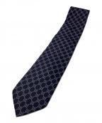 GUCCI(グッチ)の古着「ネクタイ」|ネイビー