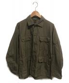 KAPTAIN SUNSHINE×SHIPS(キャプテン サンシャイン×シップス)の古着「サファリシャツジャケット」|カーキ