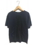 ISSEY MIYAKE MEN(イッセイ ミヤケ メン)の古着「パッチワークTシャツ」 ネイビー×ブラック