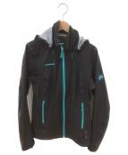 MAMMUT(マムート)の古着「ナイロンジャケット」|ブラック×ブルー