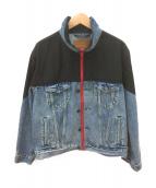 LEVIS PREMIUM(リーバイス プレミアム)の古着「リメイクデニムジャケット」|インディゴ