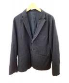 MANUAL ALPHABET(マニュアルアルファベット)の古着「テーラードジャケット」|ブラック