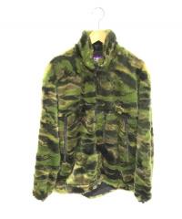 THE NORTHFACE PURPLELABEL(ザノースフェイスパープルレーベル)の古着「ファーフィールドジャケット」|グリーン×ブラック