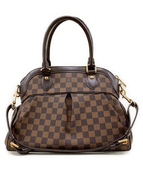 LOUIS VUITTON(ルイヴィトン)LOUIS VUITTON (ルイヴィトン) トレヴィPM ブラウン ダミエ N51997 TH0069の古着・服飾アイテム