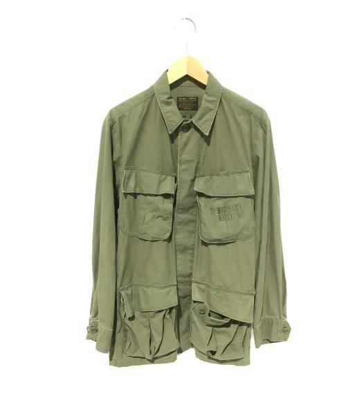 WACKO MARIA(ワコマリア)WACKO MARIA (ワコマリア) ミリタリージャケット カーキ サイズ:Mの古着・服飾アイテム