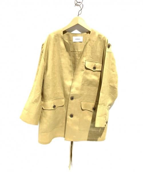 JOHNBULL(ジョンブル)Johnbull (ジョンブル) オーバーサイズサファリジャケット ベージュ サイズ:Fの古着・服飾アイテム